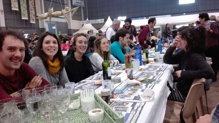 Aiherra-Antzuola senidetze eguna ospatu dute Miarritzen