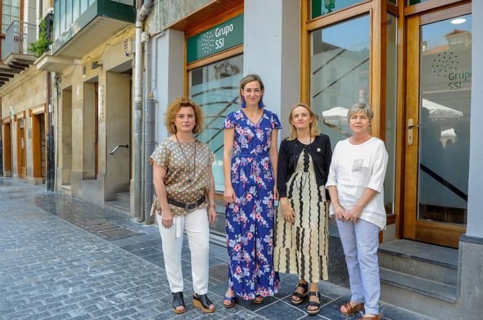 SSI kooperatibak egoitza berria inauguratu du Herriko Plaza alboan