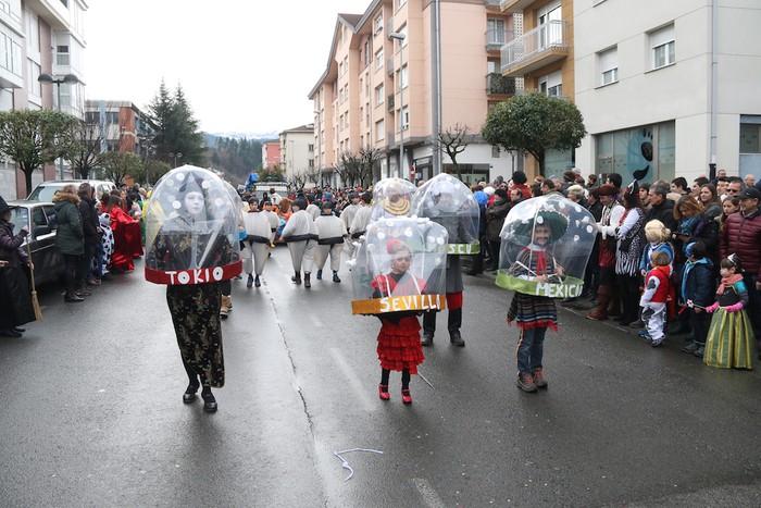 Inauterietako desfilea Aretxabaletan - 61