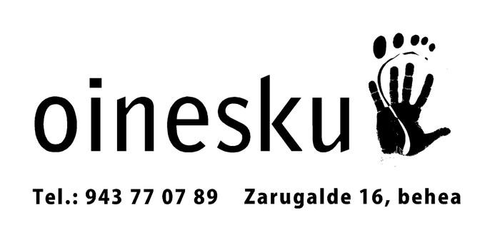 Oinesku Fisioterapia eta Osteopatia logotipoa