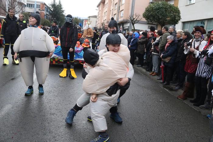 Inauterietako desfilea Aretxabaletan - 64