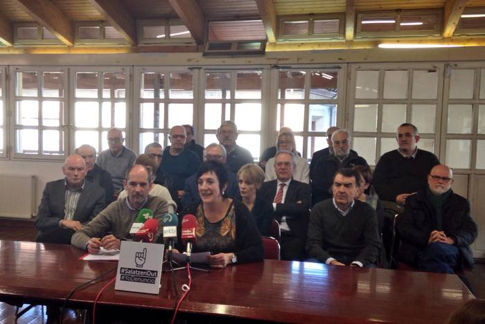 Agerraldi anitza SARE-ri 2015an konfiskatutako dirua itzultzeko eskatuz