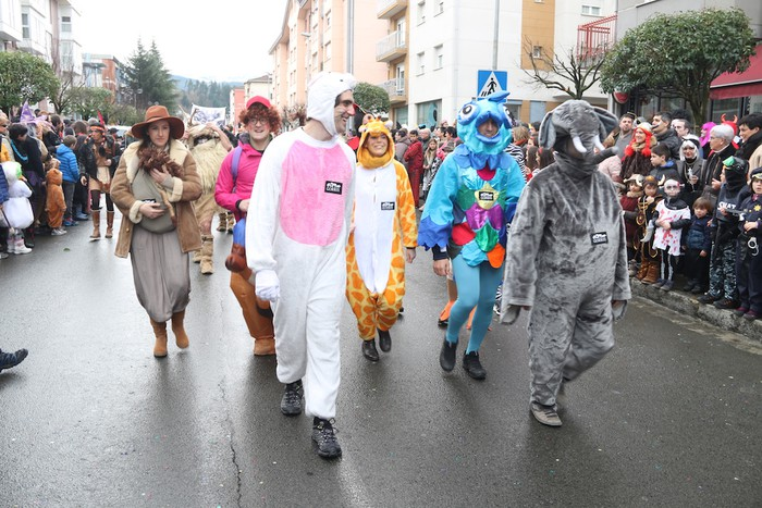 Inauterietako desfilea Aretxabaletan - 71