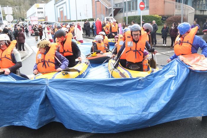 Inauterietako desfilea Aretxabaletan - 37