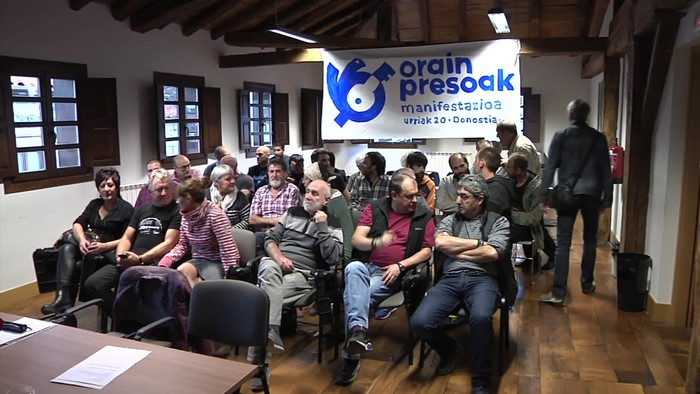Euskal presoen aldeko sinadura bilketa abiatuko dute gaur Bergaran