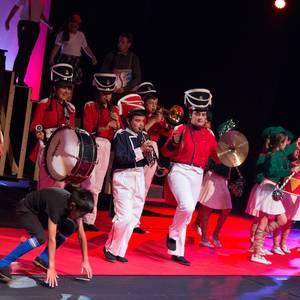 'Pinotxo hariekin lotu gabe' musikala, argazkitan
