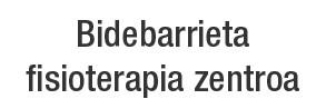 Bidebarrieta Fisioterapia Zentroa logotipoa