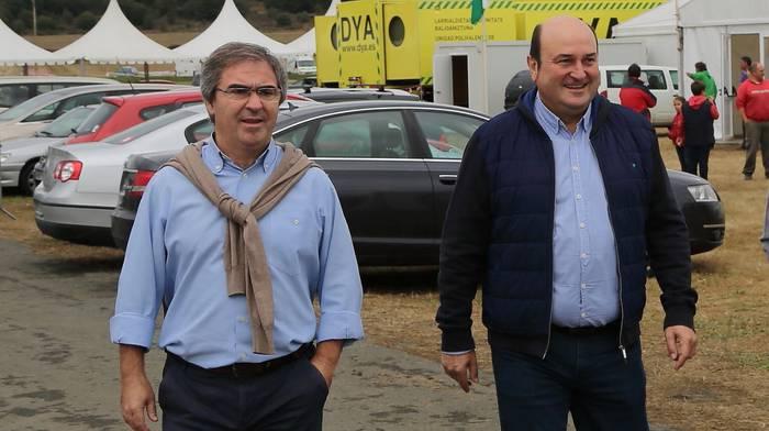 Andoni Ortuzar izango da EAJ-PNVk Kanbora bidaliko duen ordezkaritzako burua