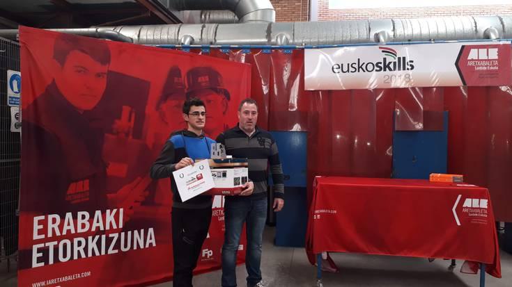 ALEko Yeray Alvarezek irabazi du Soldadura eta Galdaragintzako EuskoSkills lehiaketa