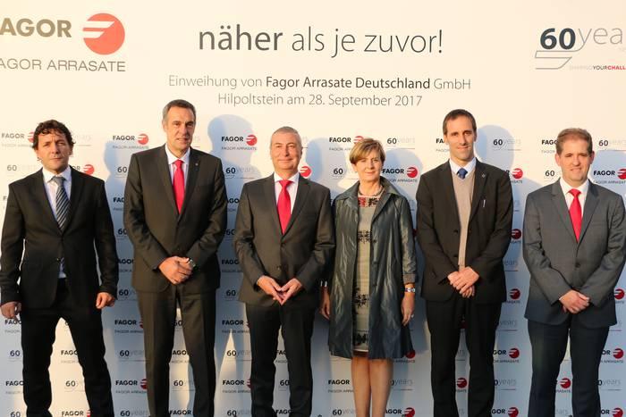 Fagor Arrasatek lantegi berria inauguratu du Alemanian