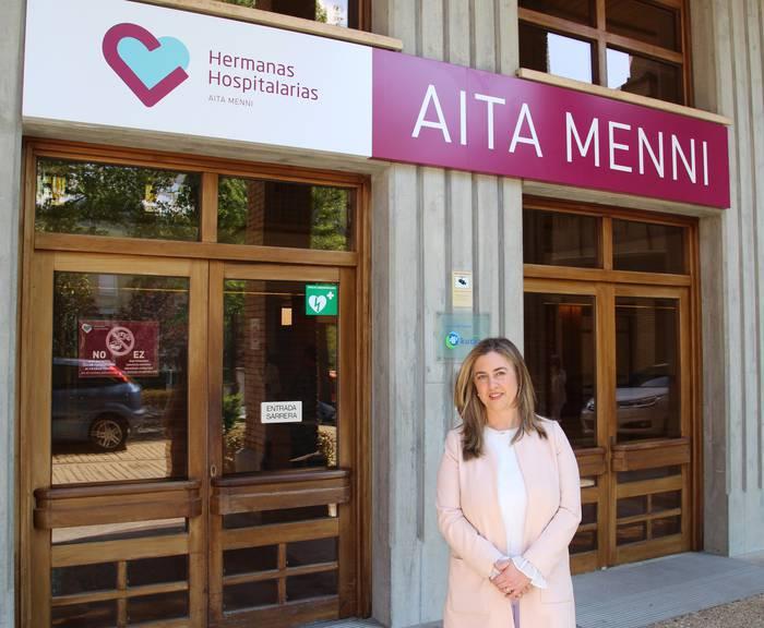 Maika Palacios izendatu dute Aita Menni ospitaleko mediku zuzendari