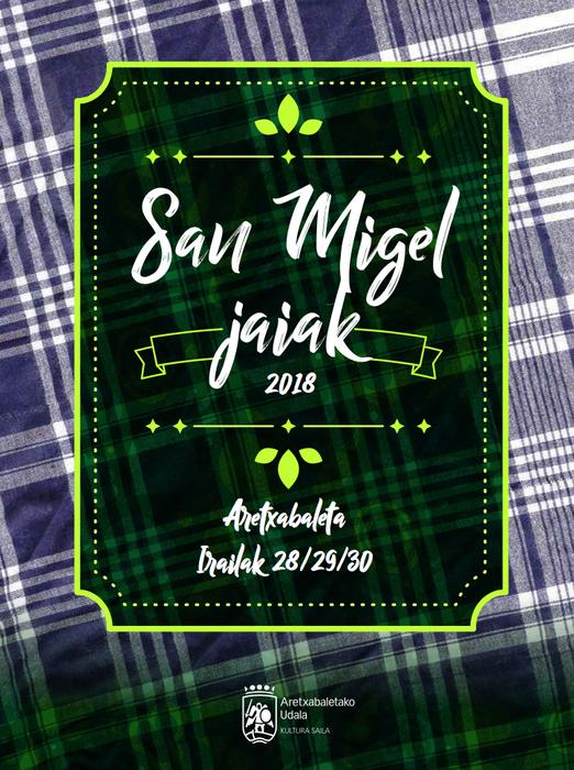 San Migelak egitaraua 2018