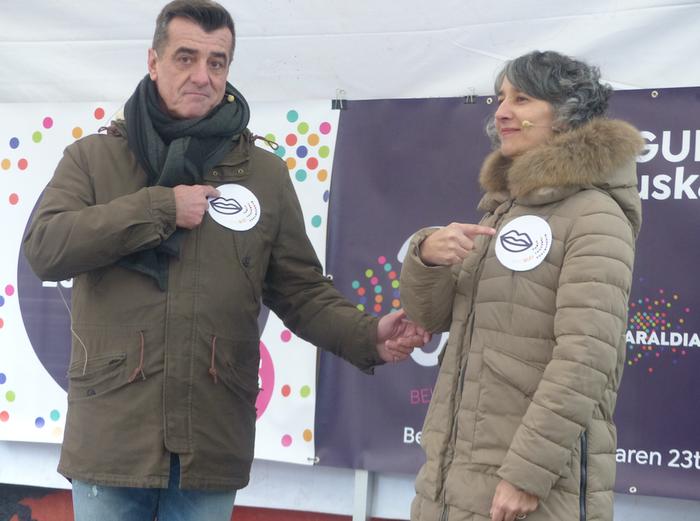Euskaraldian parte hartzeko erronkari heldu diote Bergaran, eta herritarren partaidetza eskatu dute