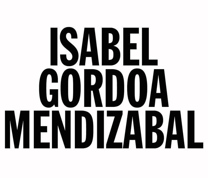 Gordoa Mendizabal Isabel arkitektoa logotipoa