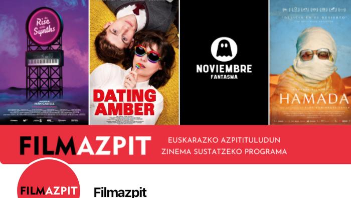 'Dating Amber' filmak abiatuko du Filmazpiten denboraldia