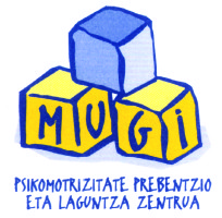 Mugi psikomotrizitatea logotipoa