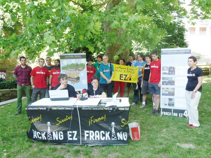 Fracking-aren kontrako hitzordua, San Inazio egunez, Urbian
