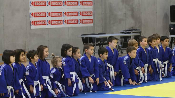 Judo erakustaldi dotoreak gaur Ibarra kiroldegian