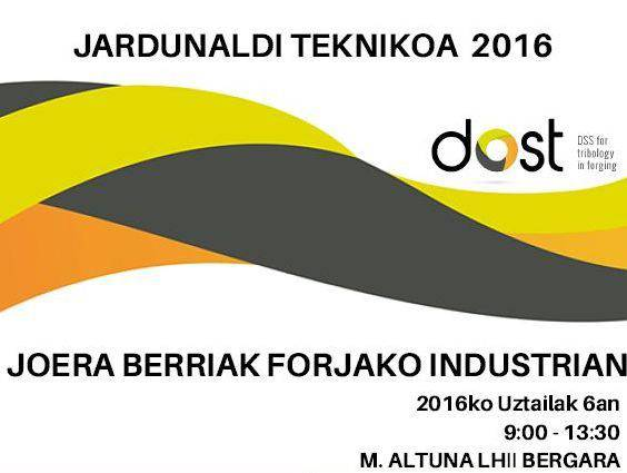 Forjaren industriari loturiko Nazioarteko Jardunaldi Teknikoa Miguel Altuna Institutuan