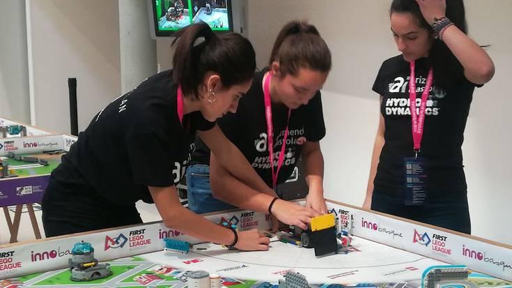 Debagoiendarrak First Lego League lehiaketan