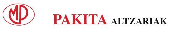 Pakita Altzariak logotipoa