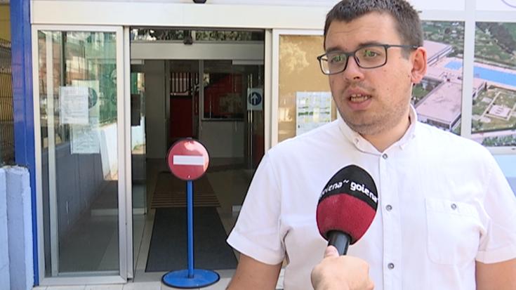 """Ander Garai: """"Astebururako kiroldegia zabalik egotea da gure nahia"""""""