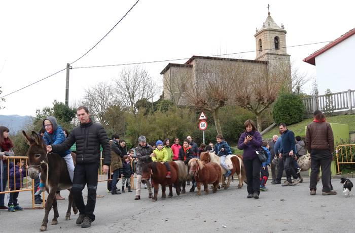 Santa Eulalia jaiak ospatuko dituzte asteburuan Arrasateko Bedoña auzoan