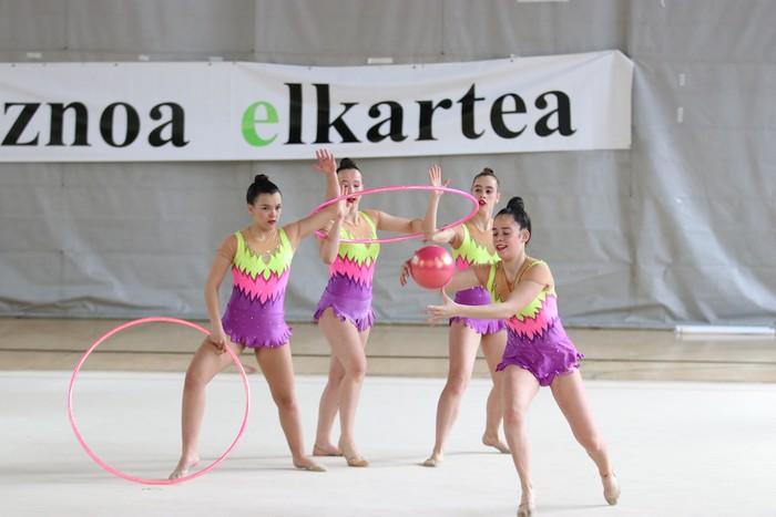 Maila bikaina gimnasia erritmikoko txapelketan - 7