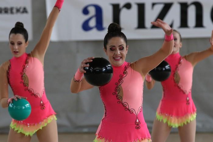 Maila bikaina gimnasia erritmikoko txapelketan - 2