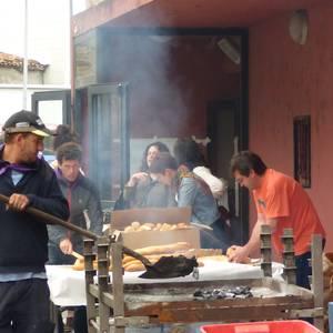 500 pertsonendako paella aurtengo herri bazkarian