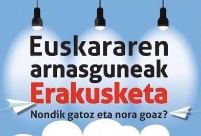 'Euskararen arnasguneak' erakusketa, Herri Eskolan