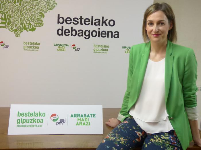 """Maria Ubarretxena: """"Udaleko aurrekontuaren %1,5 bideratuko dugu enplegua sustatzera"""""""