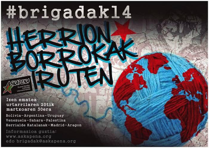 Badatoz Askapenaren 2014ko brigadak