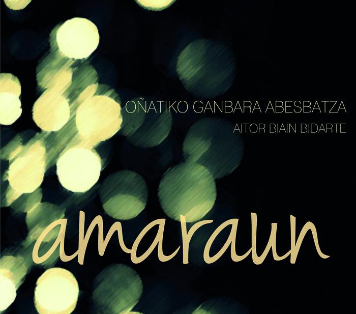 """AMARAUN"" DISKA www.ganbara.org WEBGUNEAN SALGAI!!"