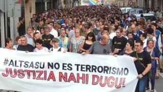 """EAJ-PNV gizartea animatzen du larunbateko manifestapenean parte hartzera Iruñan, """"Altsasu kasuan"""" justizia eskatuz"""