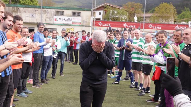 Herriko Futbol Txapelketako finalak eta omenaldia, argazkitan