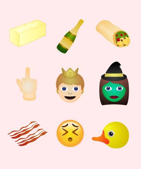 'Emoji' berriak argitaratu ditu Unicode-k, hatz luzea erakusten duen bat barne