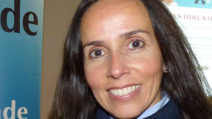"""Natalia Diez-Caballero: """"Umeak ez edukitzeko arrazoietako bat da bikoteen kontziliazio arazoa"""""""