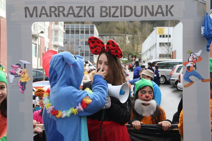 Inauterietako desfilea Aretxabaletan - 29