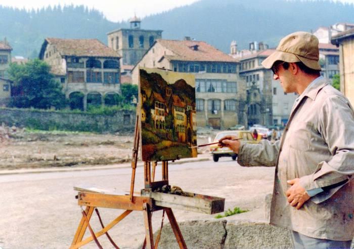 'Julio Galarta. Pintorea'