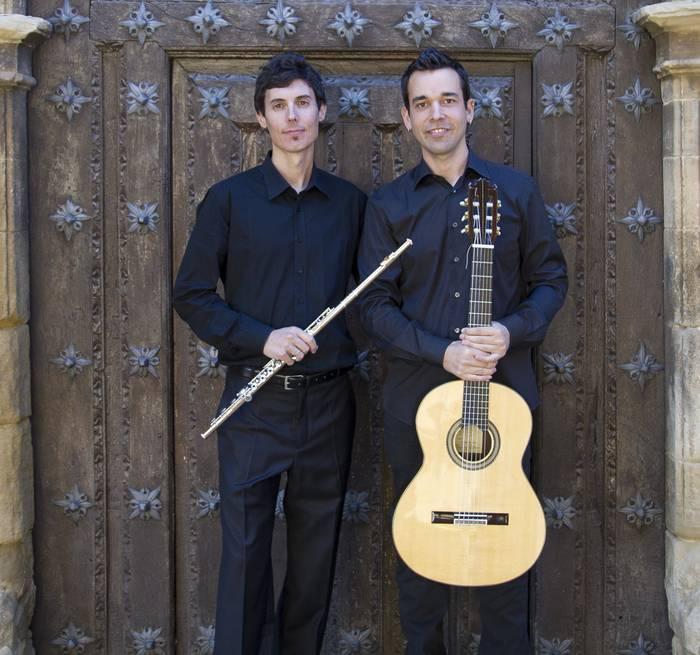 'Flauta-gitarra bikotea' kontzertua