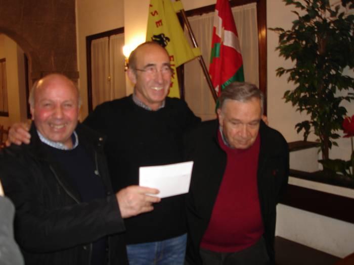 Ramon eta Larra onenak Euskal Herriko mus txapelketako Bergarako kanporaketan
