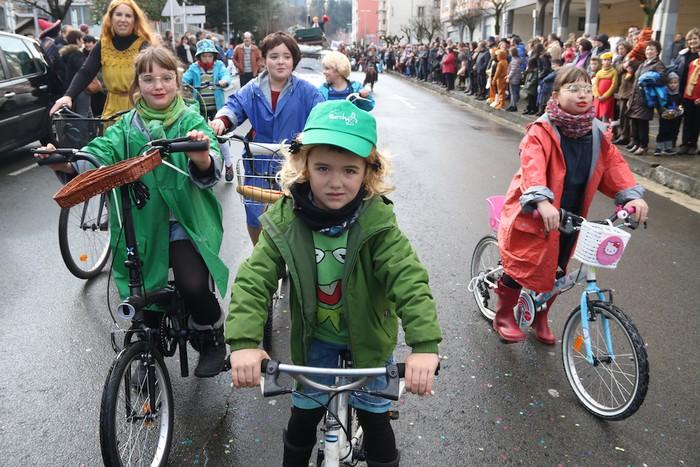 Inauterietako desfilea Aretxabaletan - 45