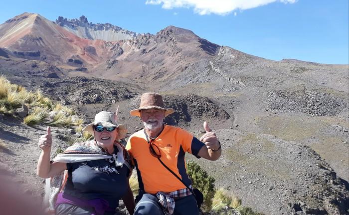 Boliviako liskarretatik justu-justuan irtenda