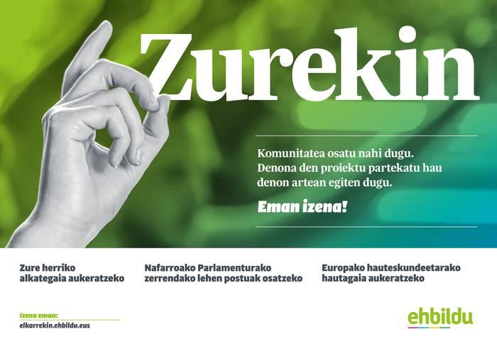 Zurekin! EH Bildu Komunitatea osatu nahi dugu!!