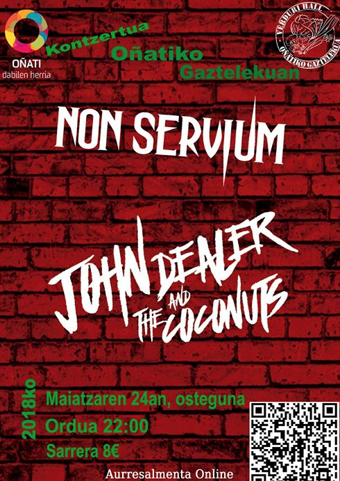Non Servium eta John Dealer and The Coconuts