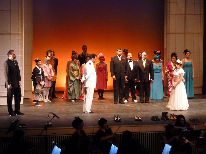 Pucciniren 'Madama Butterfly' opera egingo dute Amaia antzokian