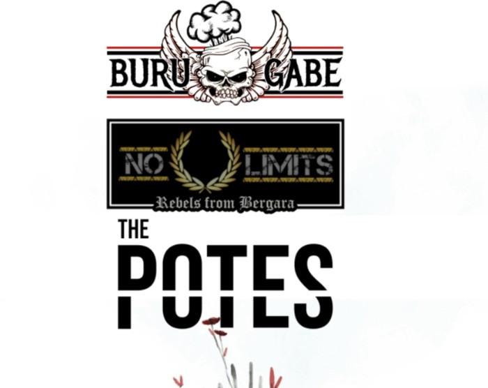 Buru Gabe, The Potes eta No Limits taldeak