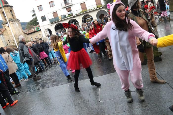 Inauterietako desfilea Aretxabaletan - 98