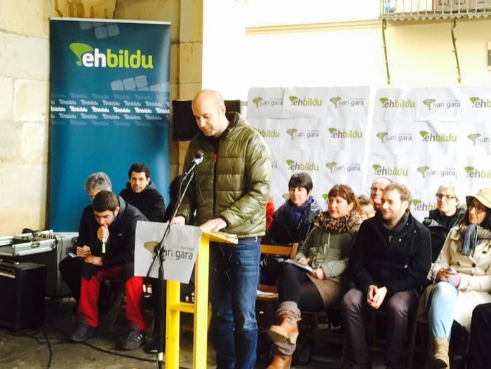 Mikel Biain izango da EH Bilduren alkategaia Oñatin